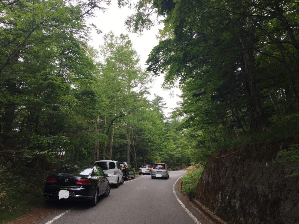 新屋山神社に行くまでの道のりの写真