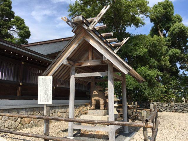 元伊勢籠神社_狛犬