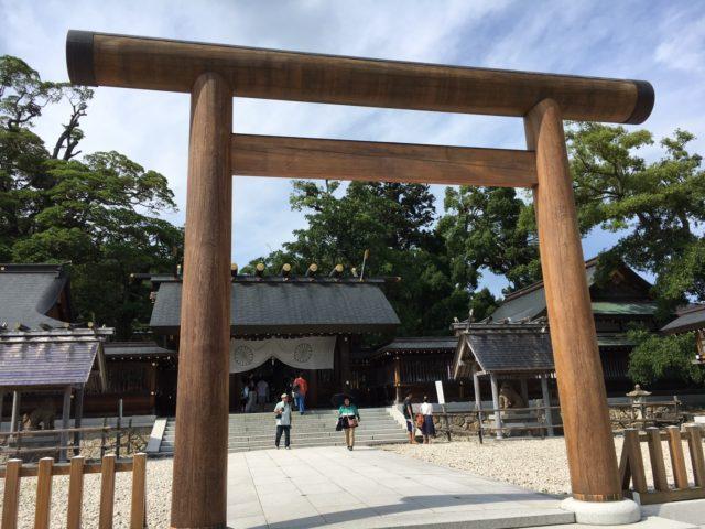 元伊勢籠神社の入り口