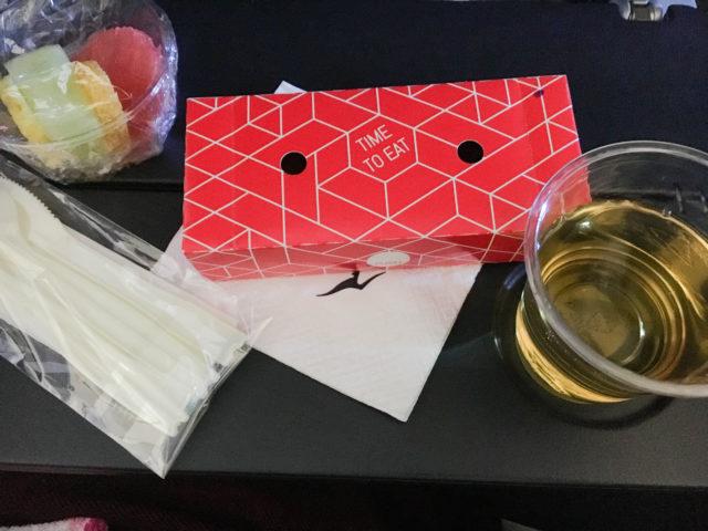 カンタス航空機内食