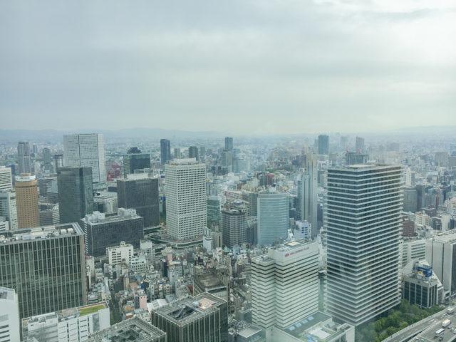 コンラッド大阪の景色