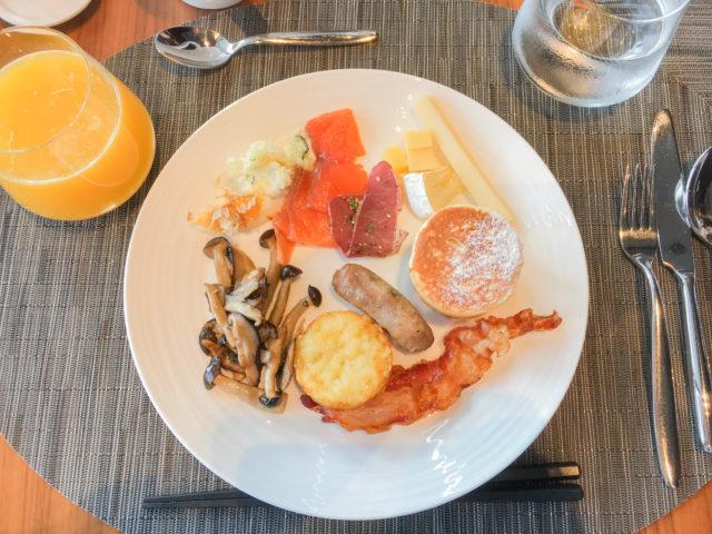 コンラッドホテルの朝食