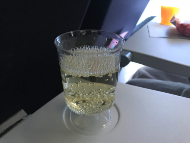 エールフランスのアルコール