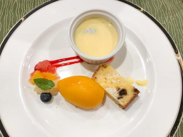 ル・クロのデザート
