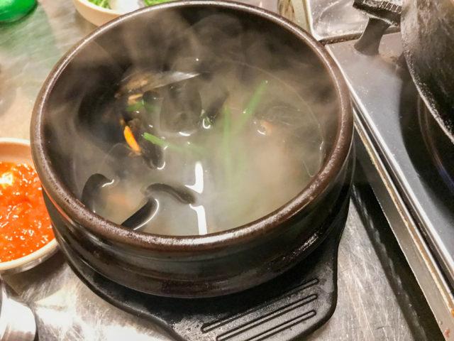 ファンソコプチャンクイのスープ