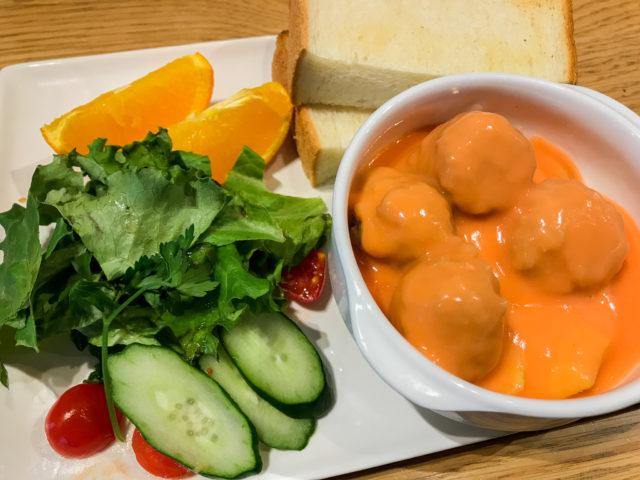 安室透特製ミートボールとキャベツのミルクトマト煮