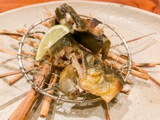 魚料理のメイン