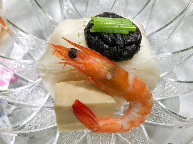 川床料理_仲よしの素麺
