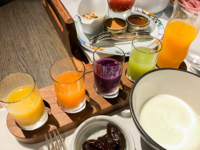 北野ホテルの朝食ドリンク