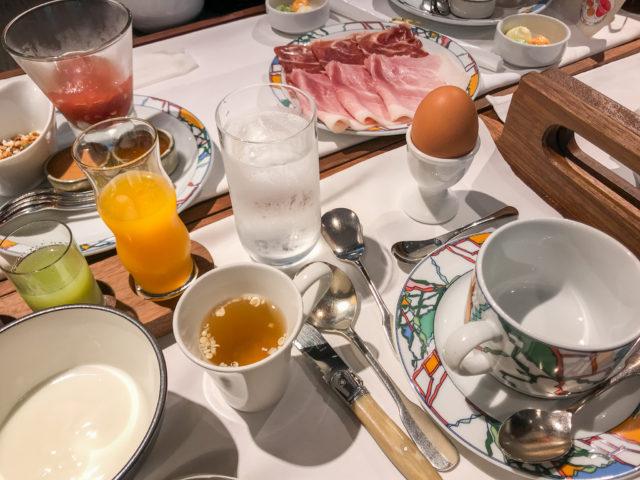 北野ホテルの朝食全体