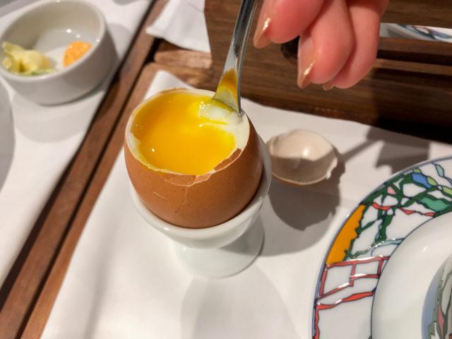 北野ホテルの朝食のたまご